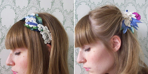 Oh Joy!'s colorful hair pieces