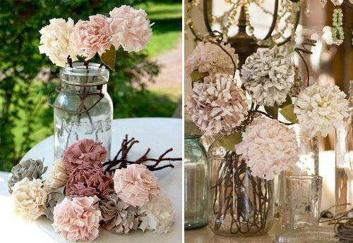 Classic Bride's jersey flowers