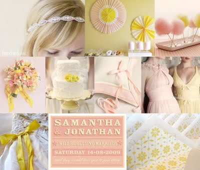 Cotton Candy mood board on Snippet & Ink