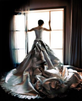 The fairytale wedding gown on Amour Amour