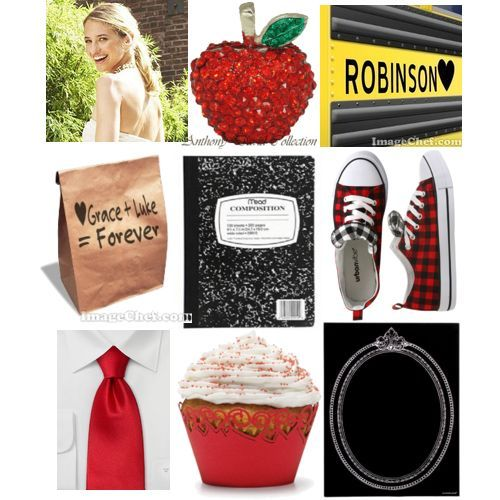 School Days Inspiration Board on Lucky Me
