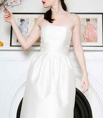 Tulip gown by Simple Silhouettes on Little White Book