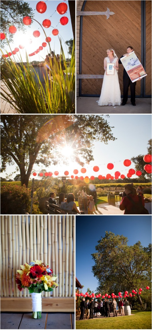 Wedding at the winery on Style Me Pretty