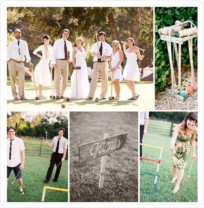 A game of croquet for your wedding, perhaps?